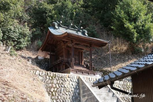 可部護国神社(招魂社) 本殿