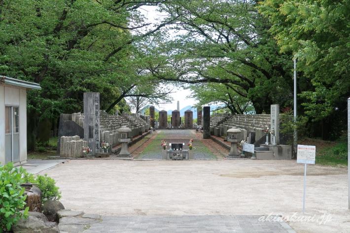 礼拝堂がなくなっていた陸軍墓地