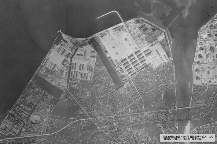 国土地理院 空中画像 USA-R507-3-155 1947(昭和22)年9月23日