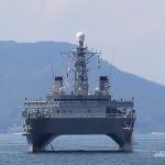 音響測定艦 ひびき AOS-5202