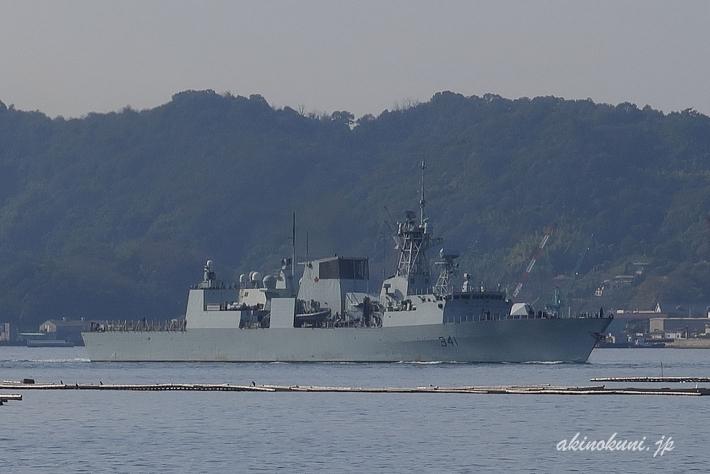 ハリファックス級フリゲート オタワ(FFH341)-1