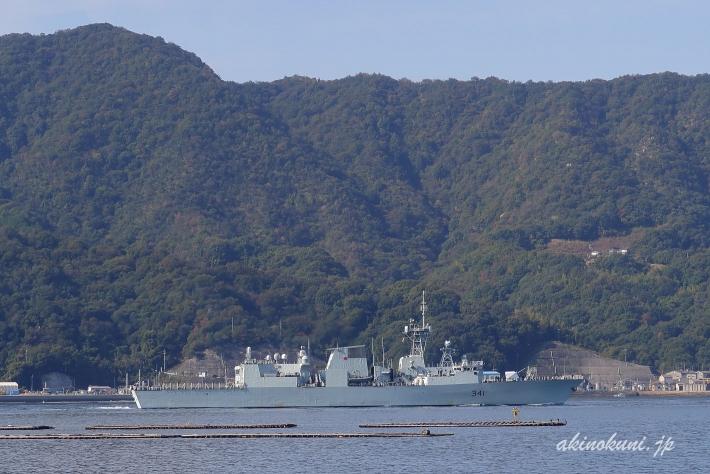 ハリファックス級フリゲート オタワ(FFH341)-3