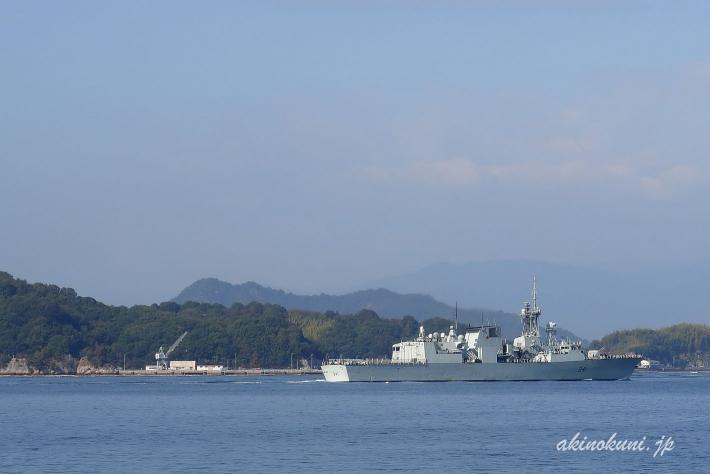 ハリファックス級フリゲート オタワ(FFH341)-4