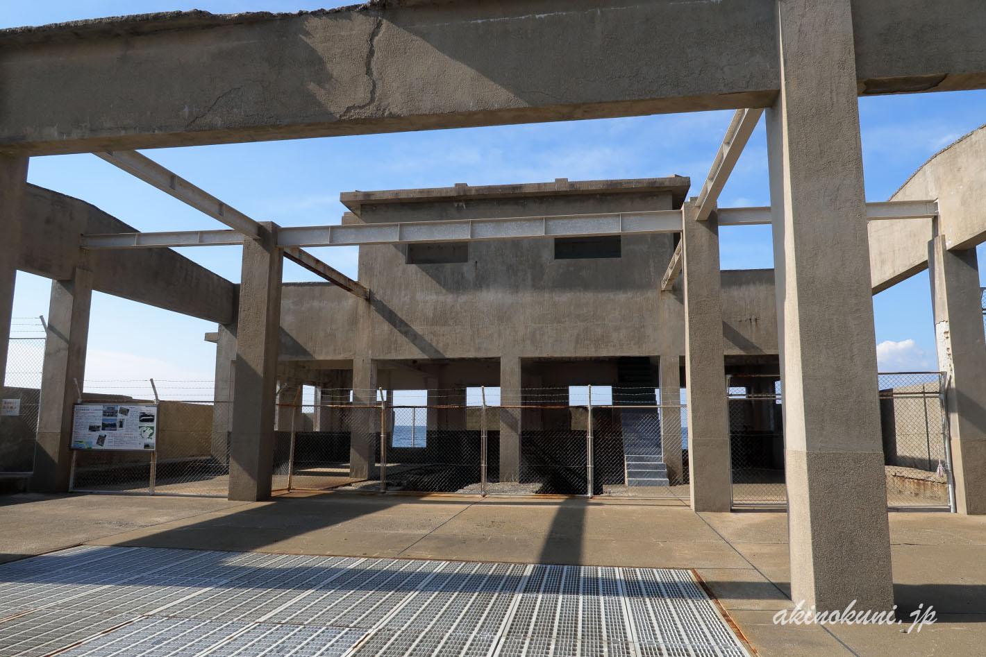 大津島 回天訓練基地(魚雷発射試験場)跡
