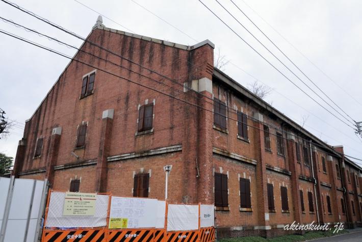 広島陸軍被服支廠 倉庫のひとつ