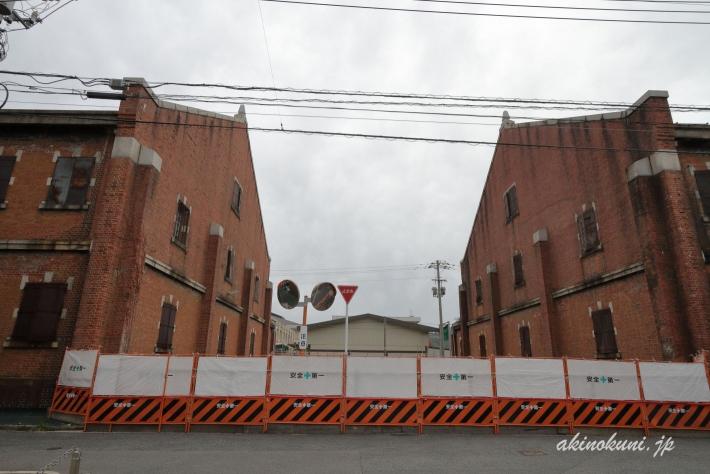 広島陸軍被服支廠 並ぶ倉庫
