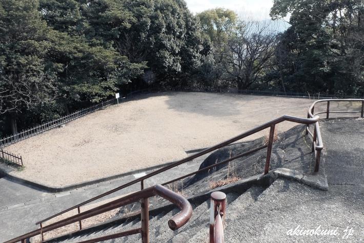 広島湾要塞 比治山演習砲台跡 1