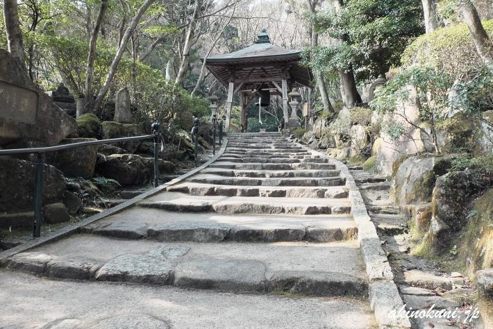 三瀧寺 参道-2