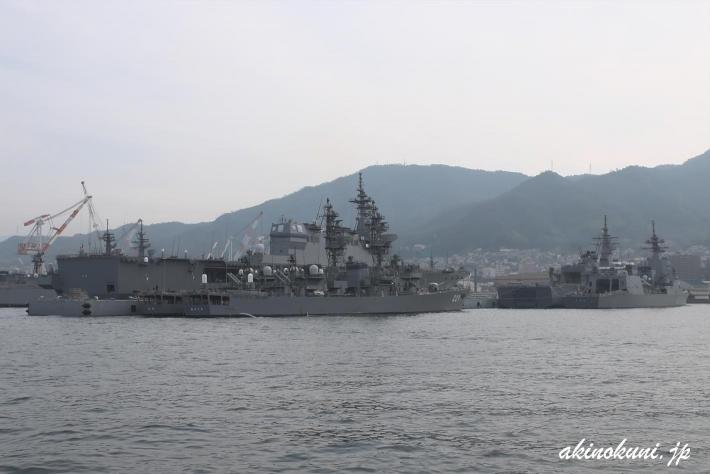 Fバースの艦船