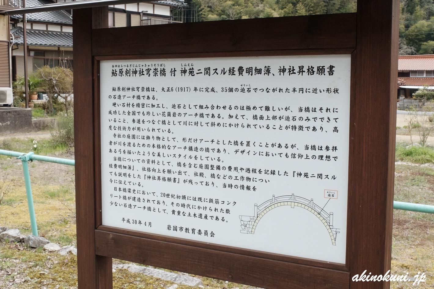 穹崇橋の説明