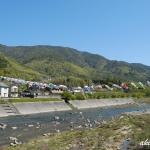 三篠川の鯉のぼり 2020年