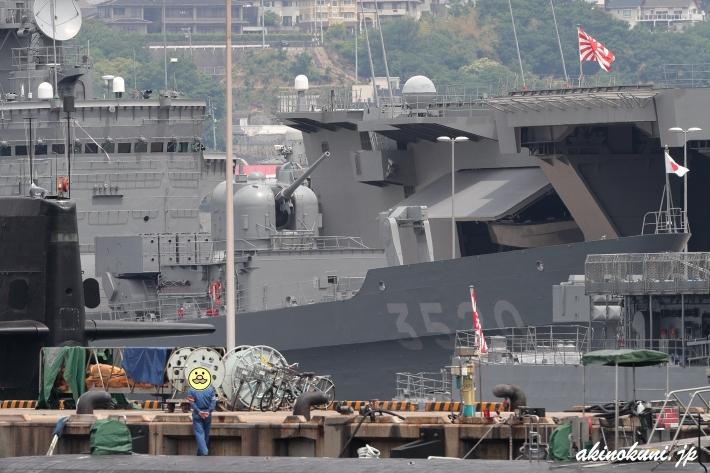 """Fバースの練習艦""""はたかぜ"""" 寄ってみます"""