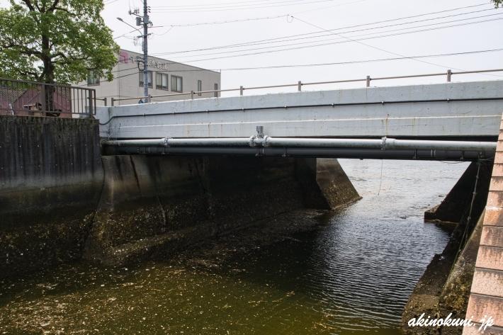 暁橋による水路