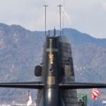 潜水艦に注連飾り 2021年