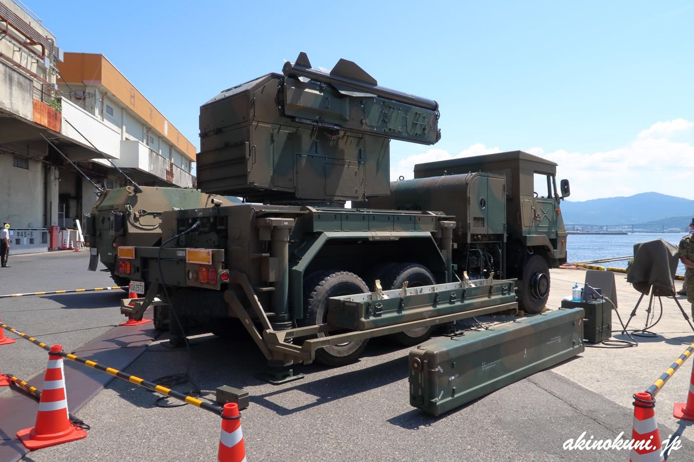 81式短距離地対空誘導弾(短SAM)