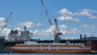 近海郵船 RORO船 とかち